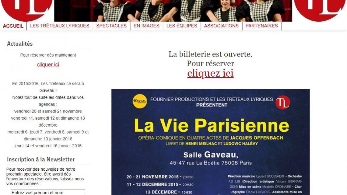 Association Les Tréteaux Lyriques